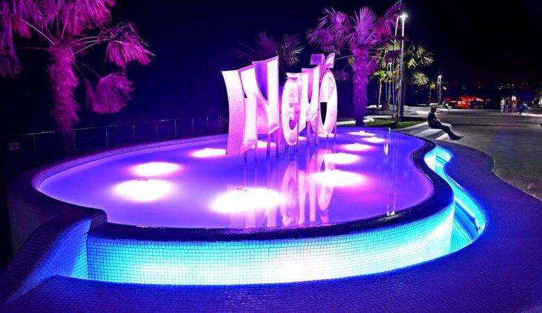 Создание современного освещения набережной пляжа «Ланжерон» и гостиничного комплекса отеля «NEMO»